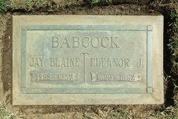 Eleanor Jeanette <i>Dunlap</i> Babcock