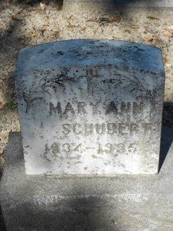 Mary Ann Schubert