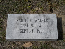 Isabelle Bell Rhoda <i>Lewis</i> Walker