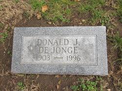 Donald J. De Jonge
