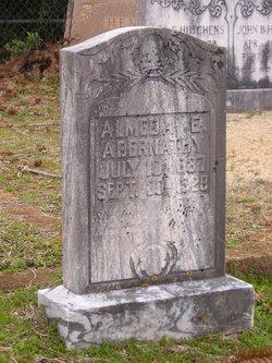 Almeda E <i>Sentell</i> Abernathy