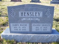 James W Jim Hensley