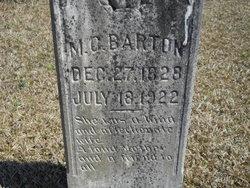 Martha Caroline <i>Shaffer</i> Barton