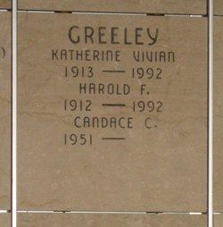 Katherine Vivian <i>MacDonald</i> Greeley