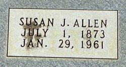 Susan Permelia Susie <i>James</i> Allen