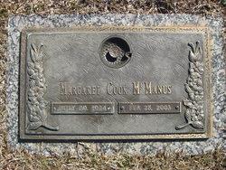 Margaret Cook McManus
