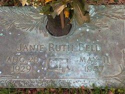 Janie Ruth <i>McDaniel</i> Bell