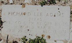 Richard Lee Adams
