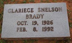 Clariece <i>Snelson</i> Brady