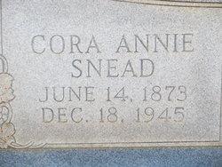 Cora Annie <i>Snead</i> Lee