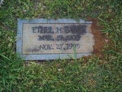Ethel H. Baker