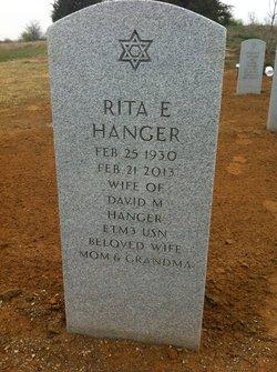 Rita Elaine <i>Steiner</i> Hanger