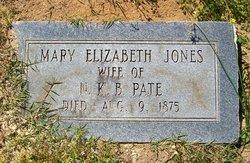 Mary Elizabeth <i>Jones</i> Pate