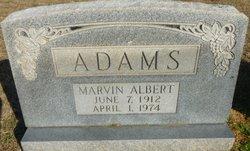 Marvin Albert Adams