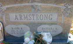 Ralph B Armstrong