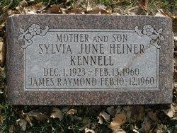 Sylvia June <i>Heiner</i> Kennell