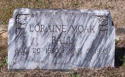 Loraine <i>Moak</i> Ball