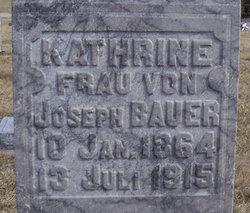 Kathrine <i>Hentzelmeyer</i> Bauer