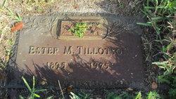 Esther M. Tillotson