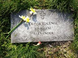 Olivia Eugenia Livie Gene <i>Williams</i> Alexander