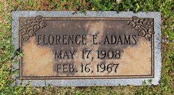 Florence E. Adams