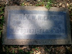 Rev William Robert Earp