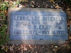 Lebbie Lee <i>Mitchell</i> Earp