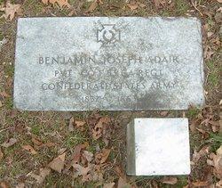 Pvt Benjamin Joseph Adair