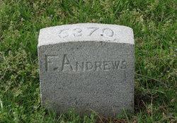 Pvt Frank Andrews