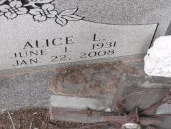 Alice L Tennie Booth