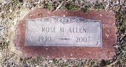 Rose Mae <i>Baker</i> Allen