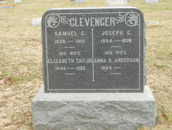 Anna B. <i>Anderson</i> Clevenger