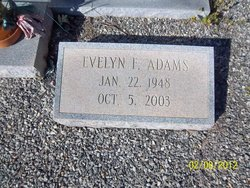 Evelyn <i>F.</i> Adams