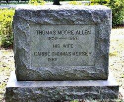 Caroline Thomas Carrie <i>Kersey</i> Allen