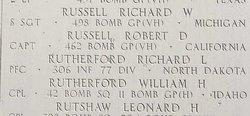 PFC Richard L Rutherford