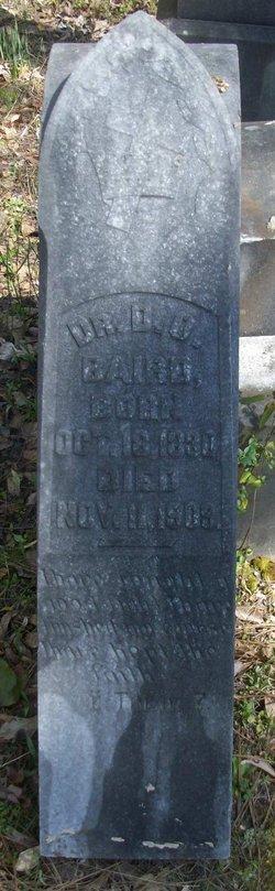Dr D. O. Baird
