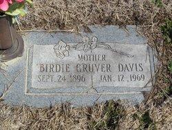 Birdie Estella Lucille <i>Gruver</i> Davis