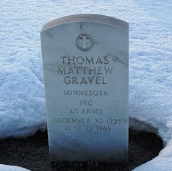 PFC Thomas Matthew Gravel