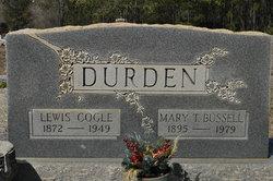 Mary Bussell <i>Toler</i> Durden
