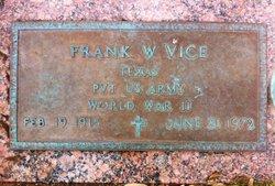 Frank Washington Vice