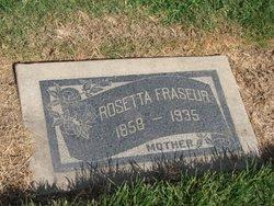Rosetta <i>Morton</i> Fraseur