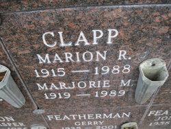 Marjorie Marcella <i>Zornes</i> Clapp