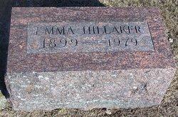 Emma A. <i>LeValley</i> Hillaker