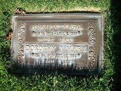 Alice M <i>Markiewicz</i> Marx