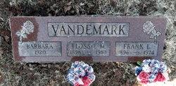 Infant Barbara Vandemark