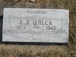 Ernest Delbert Walck