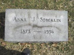 Anna Josephine <i>Hecker</i> Stocklin