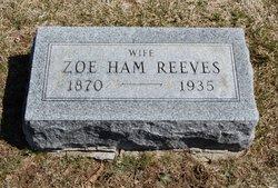 Zoe Ham Reeves
