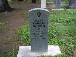 Betty M. <i>Twiford</i> Dunham