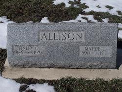 Mattie L <i>Melson</i> Allison